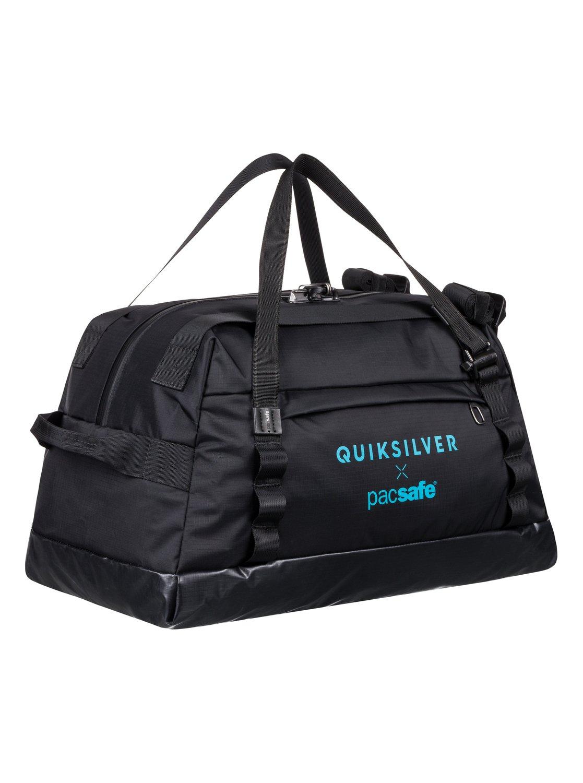 3050d5dc04 1 Pacsafe X QS 40L - Grand sac de voyage étanche et antivol Noir EQYBL03168  Quiksilver
