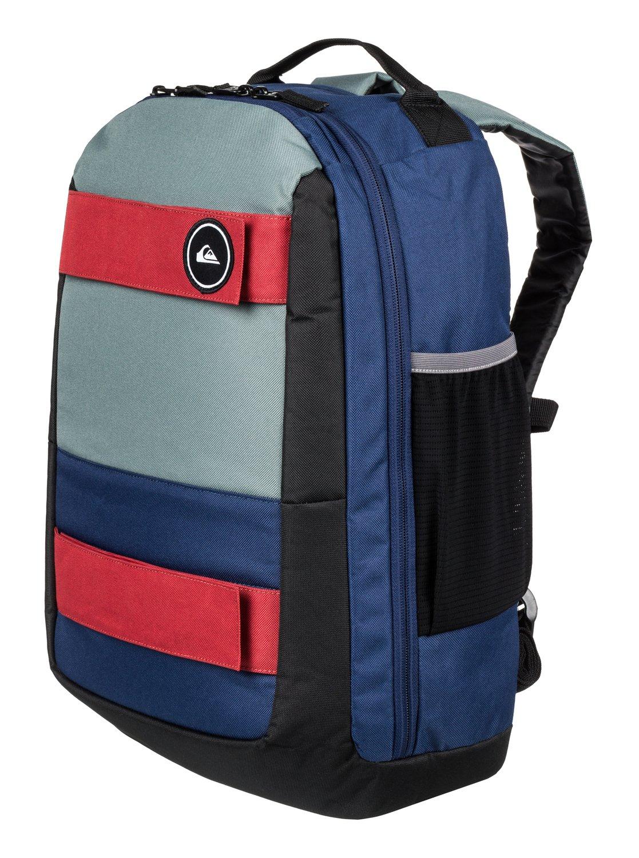 7d4e183e51 1 Skate Pack 24L - Sac à dos taille moyenne Bleu EQYBP03494 Quiksilver