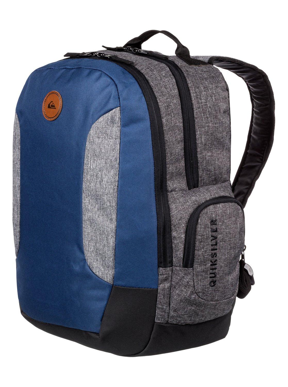 Quiksilver-Schoolie-30L-Grand-sac-a-dos-EQYBP03498 miniature 24