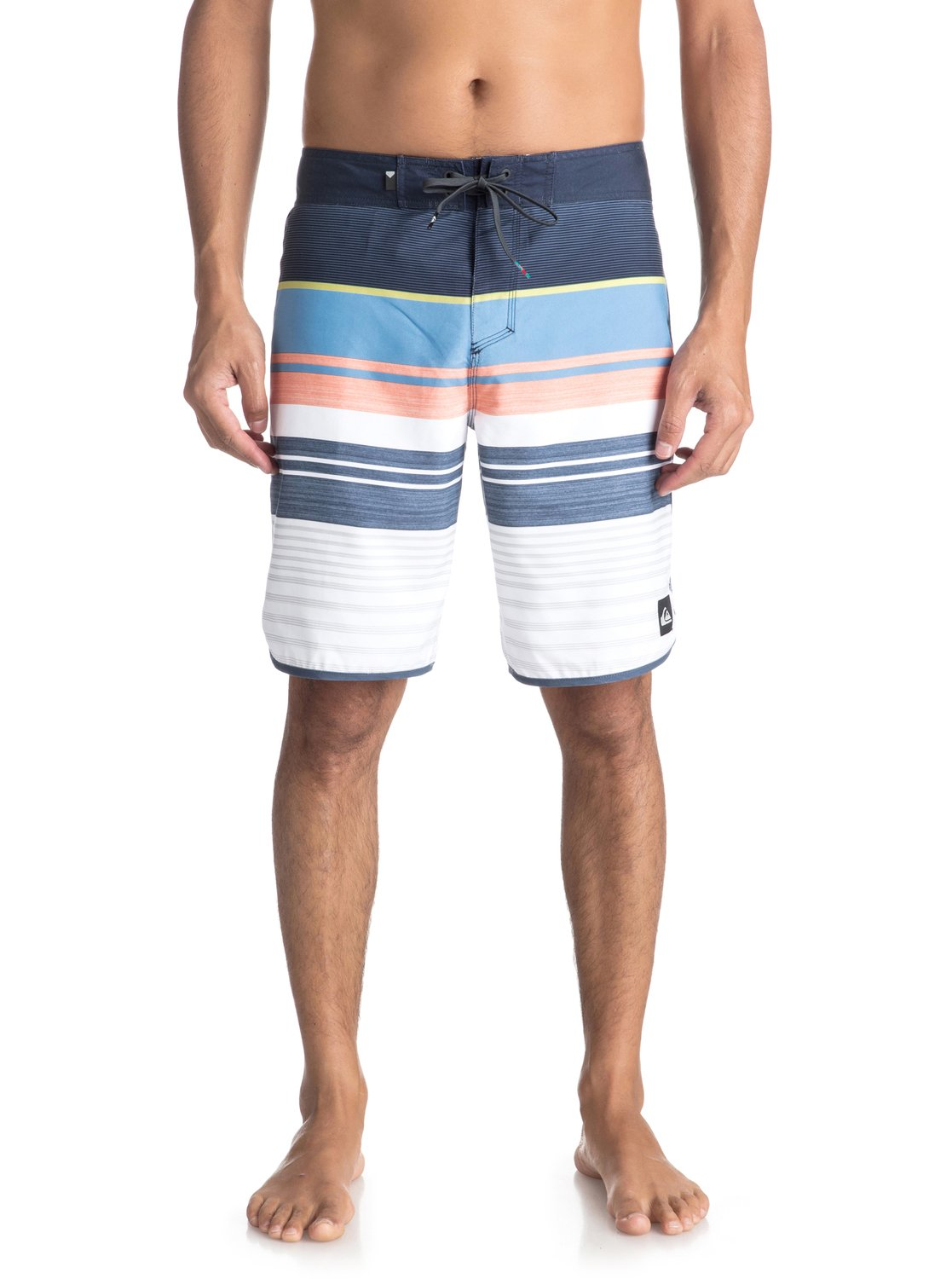 ZSYQG Mens Swim Board Shorts Solid Board Drawstring Elastic Waist Gym Shorts