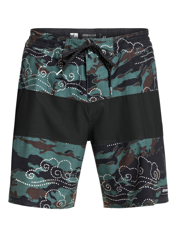 Quiksilver-Baja-Variable-18-034-Pantalones-cortos-de-playa-para-Hombre miniatura 8