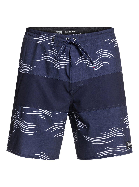 Quiksilver-Baja-Variable-18-034-Pantalones-cortos-de-playa-para-Hombre miniatura 12