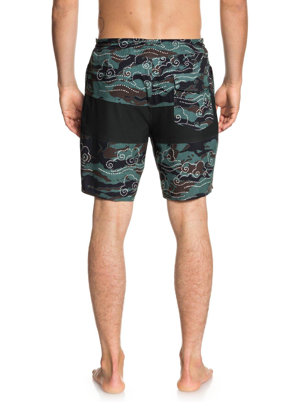 Quiksilver-Baja-Variable-18-034-Pantalones-cortos-de-playa-para-Hombre miniatura 7