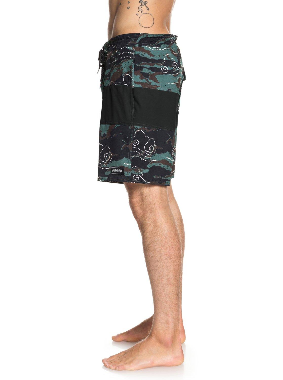 Quiksilver-Baja-Variable-18-034-Pantalones-cortos-de-playa-para-Hombre miniatura 6