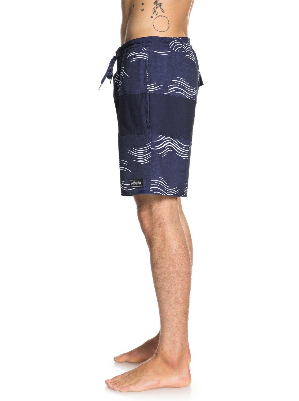 Quiksilver-Baja-Variable-18-034-Pantalones-cortos-de-playa-para-Hombre miniatura 10