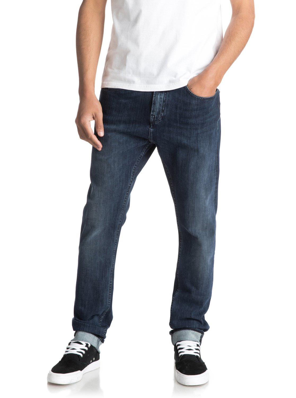 1c0bdf119e77cf 2 Low Bridge Mineral Blue - Skinny Fit Jeans for Men EQYDP03339 Quiksilver