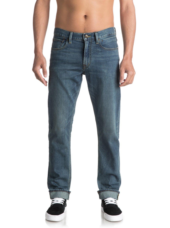 85b40d2c7b681 Revolver Medium Blue - Straight Fit Jeans for Men EQYDP03345 ...