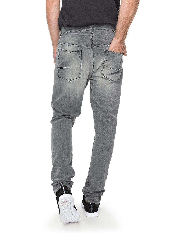 cec7101e767217 3 Low Bridge Grey - Skinny Fit Jeans for Men Black EQYDP03354 Quiksilver