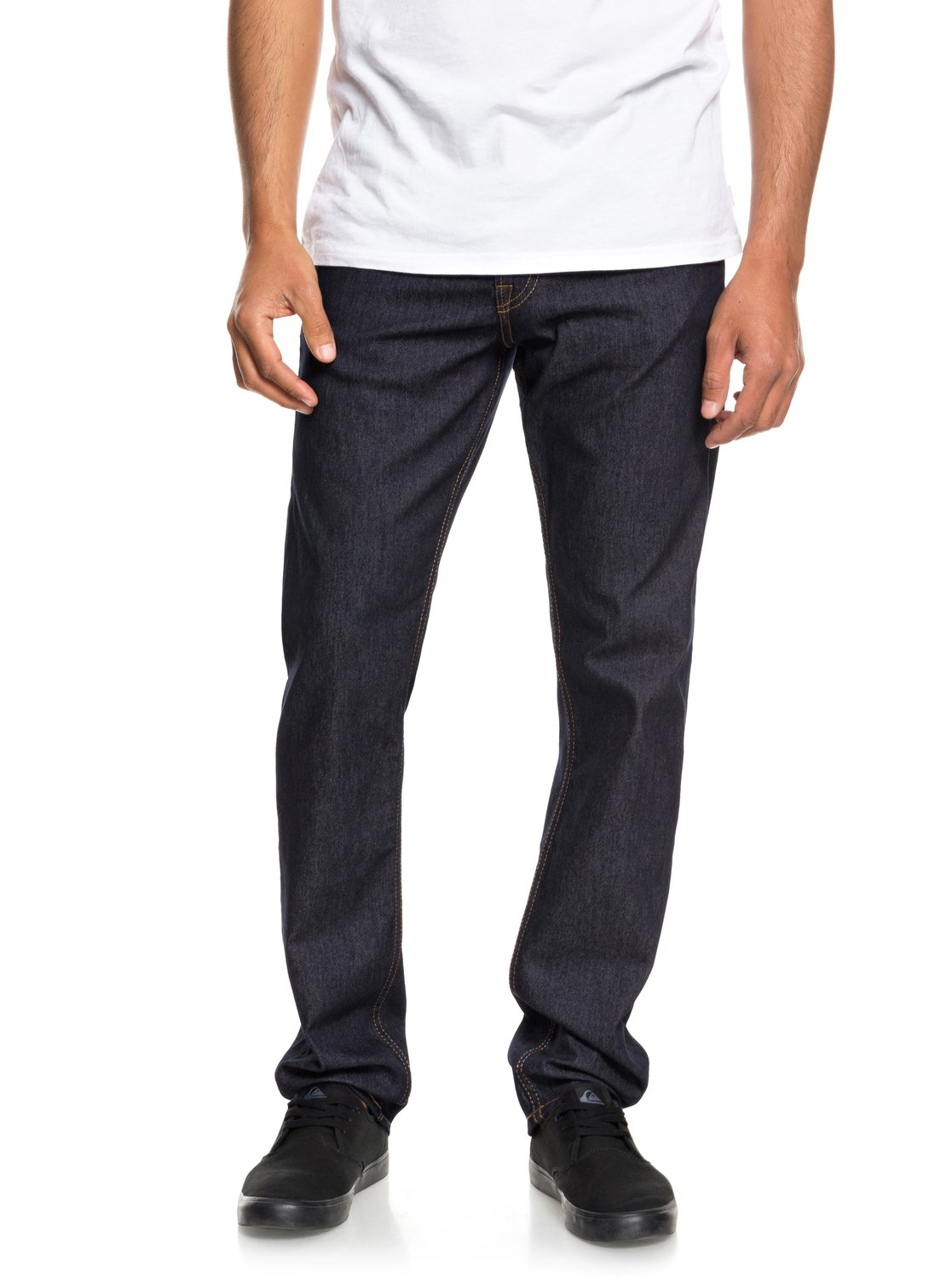 68329f94417b 0 Revolver Cold Weather - Straight Fit Jeans for Men Blue EQYDP03379  Quiksilver