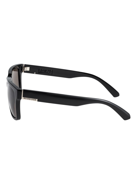 eefc4cf0ab6e4 2 Bruiser - Sunglasses for Men Black EQYEY03075 Quiksilver