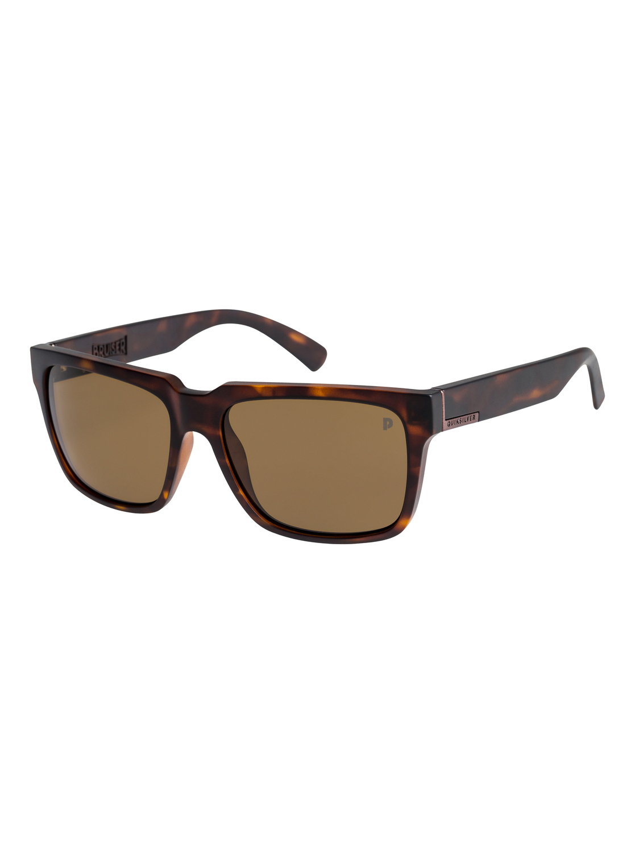 2880883d8a 0 Bruiser Polarised Sunglasses Brown EQYEY03076 Quiksilver