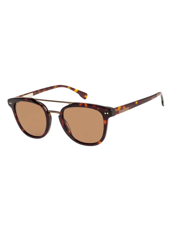 77180fc488421 0 Baltimore - Sunglasses for Men Brown EQYEY03098 Quiksilver