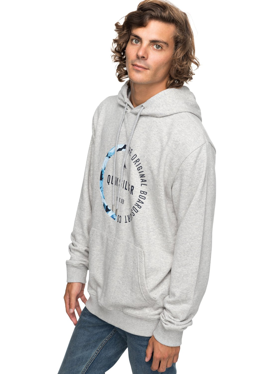 bbed26a91cbd2 0 Revenge - Hoodie for Men Grey EQYFT03790 Quiksilver