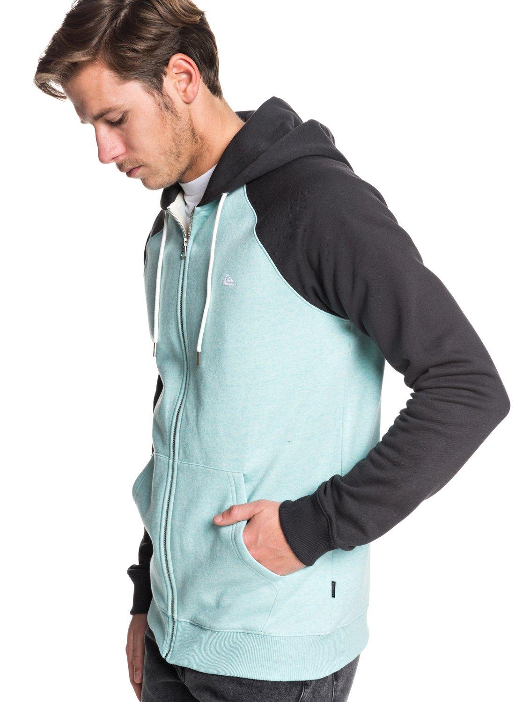 2f69c35777025 1 Everyday - Sweat à capuche zippé pour Homme Bleu EQYFT03849 Quiksilver
