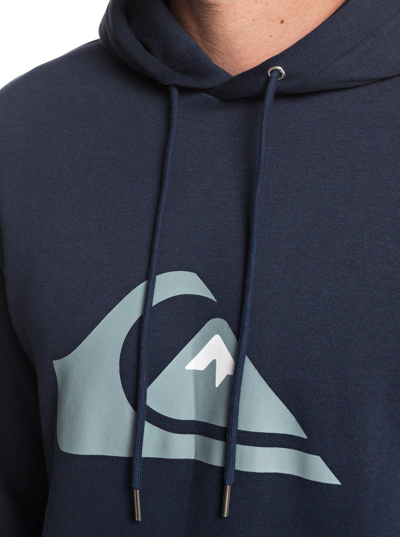 Quiksilver-Big-Logo-Sweat-a-capuche-pour-Homme-EQYFT03922 miniature 6