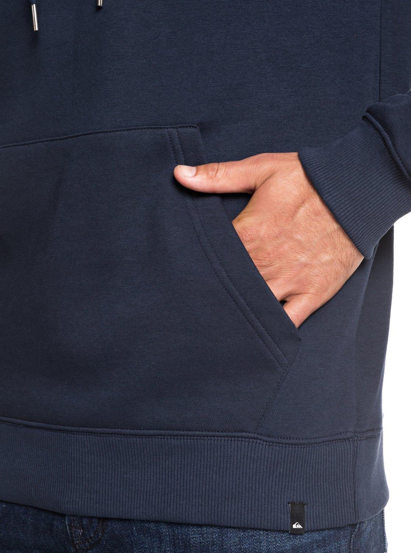 Quiksilver-Big-Logo-Sweat-a-capuche-pour-Homme-EQYFT03922 miniature 7