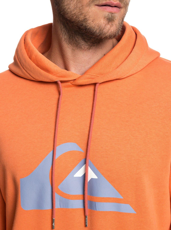 Quiksilver-Big-Logo-Sweat-a-capuche-pour-Homme-EQYFT03922 miniature 14
