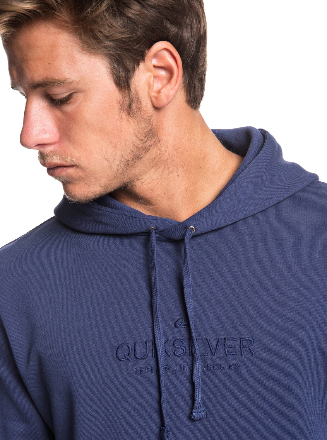 Quiksilver-Voodoo-Red-Zone-Sweat-a-capuche-pour-Homme-EQYFT03932 miniature 6