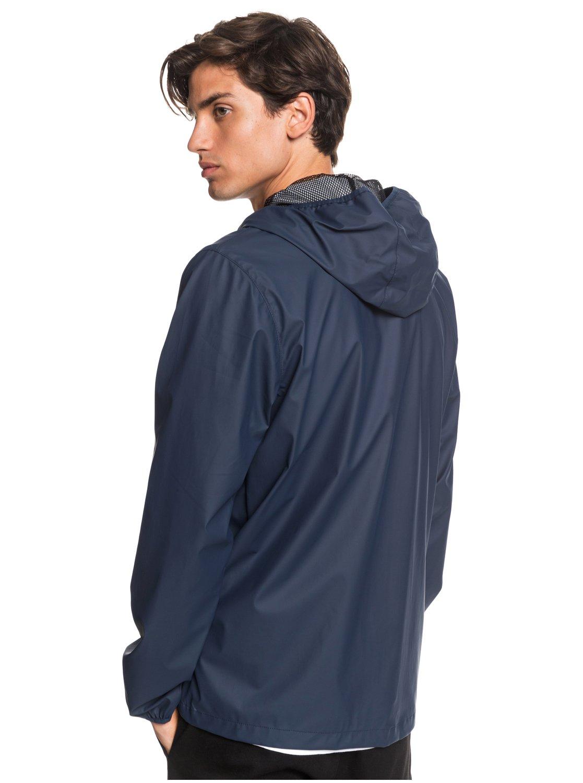 bb41cc7c33 Quiksilver-Kamakura-Rains-Hooded-Raincoat-EQYJK03438 thumbnail 17