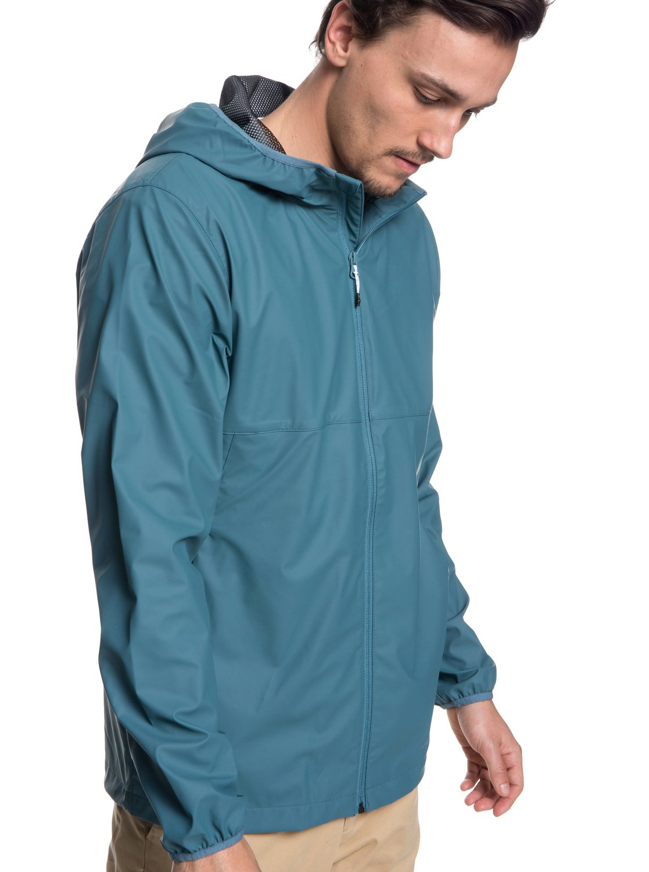 fa946ca382 1 Kamakura Rains - Hooded Raincoat for Men Blue EQYJK03438 Quiksilver