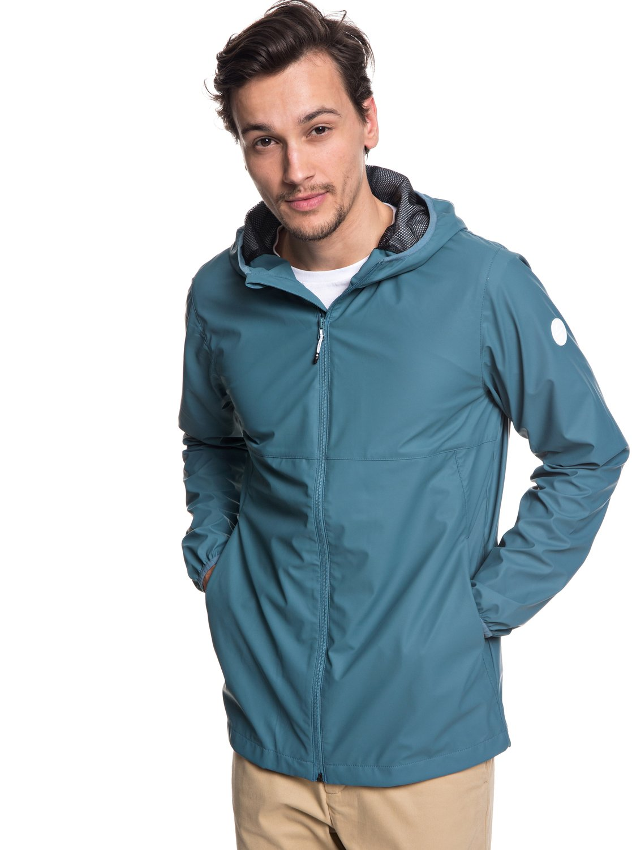 78a02fe999 2 Kamakura Rains - Hooded Raincoat for Men Blue EQYJK03438 Quiksilver