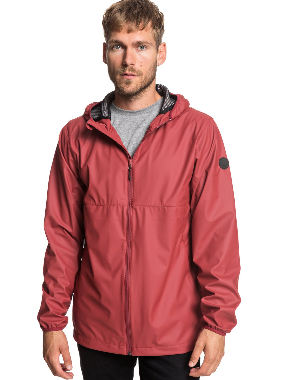 d71dd47529 0 Kamakura Rains - Hooded Raincoat for Men Red EQYJK03438 Quiksilver