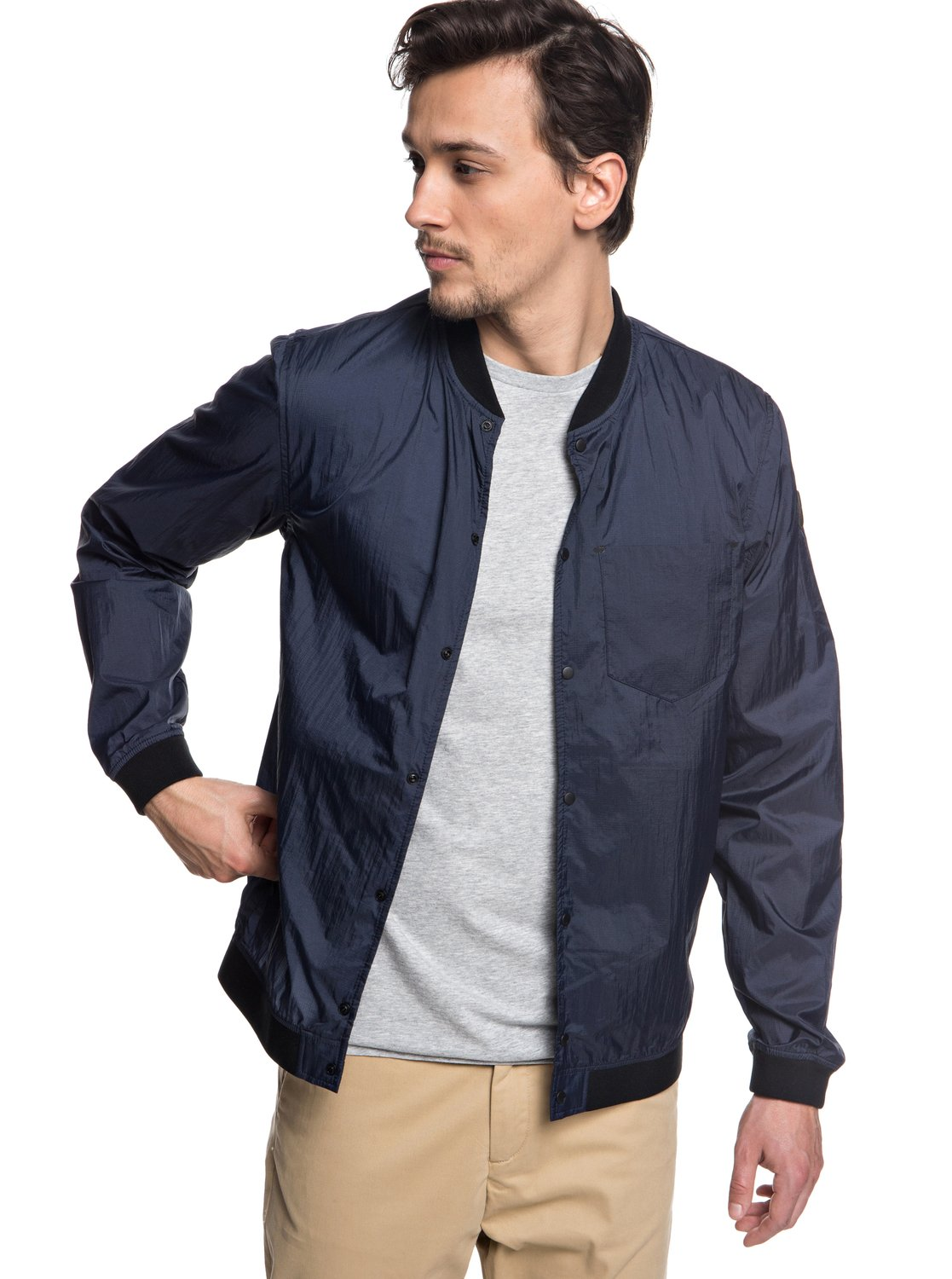 prevalent good latest collection Qpak Packable Water Resistant Bomber Jacket