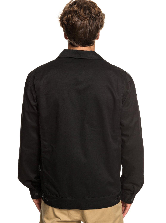 e12922e5ea82 6 Twice Wilted - Giacca camicia da Uomo Black EQYJK03464 Quiksilver
