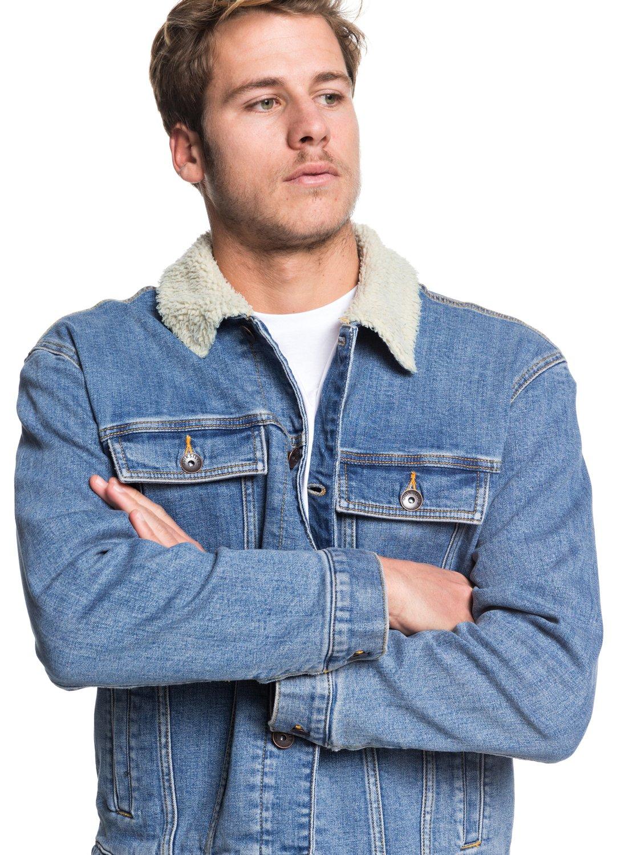 5f06ec587 Quiksilver - Veste en jean pour Homme