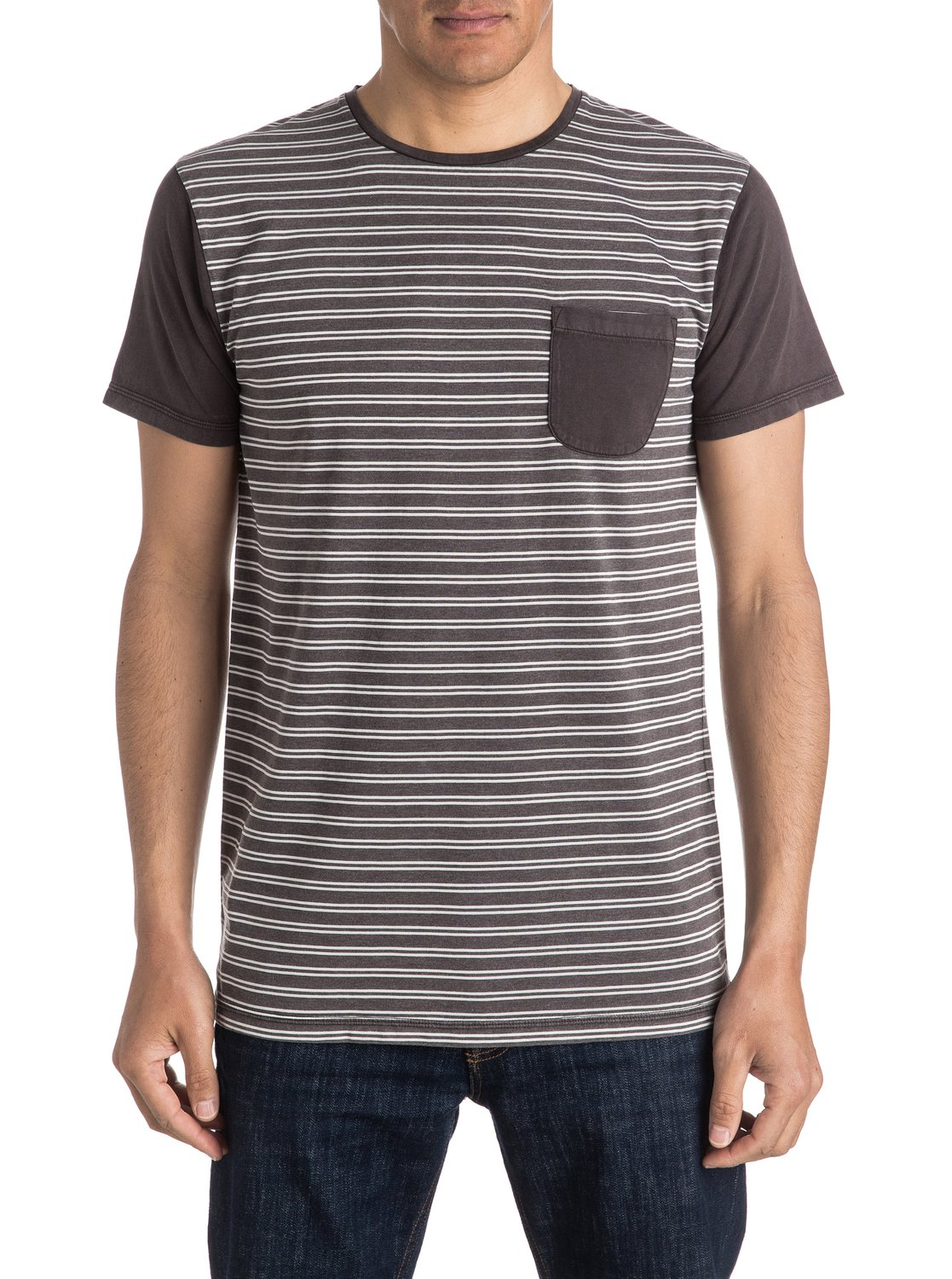 2622c9e1 0 Acid Striped Pocket Tee EQYKT03473 Quiksilver