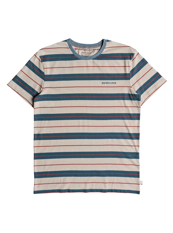 Quiksilver-Dera-Steps-T-shirt-col-rond-pour-Homme-EQYKT03753 miniature 8