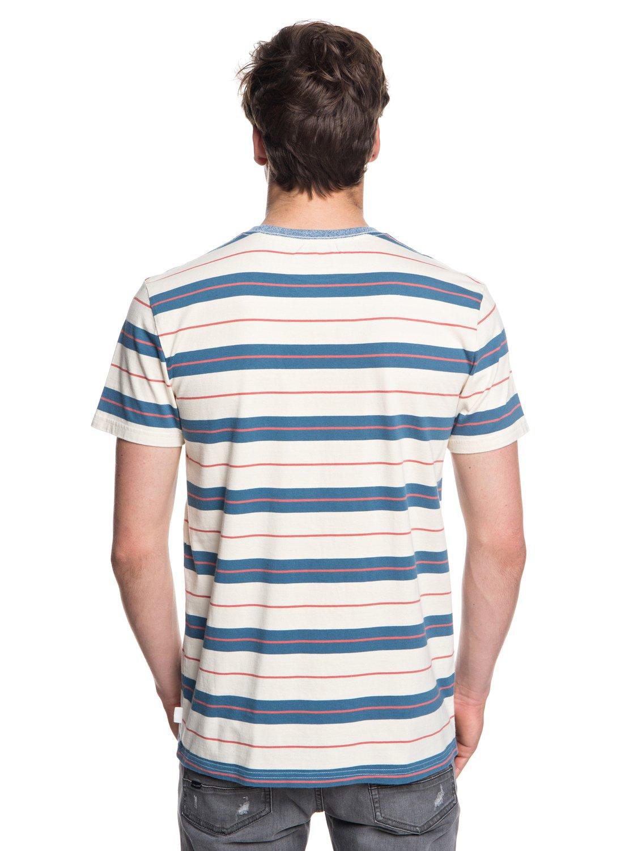 Quiksilver-Dera-Steps-T-shirt-col-rond-pour-Homme-EQYKT03753 miniature 7