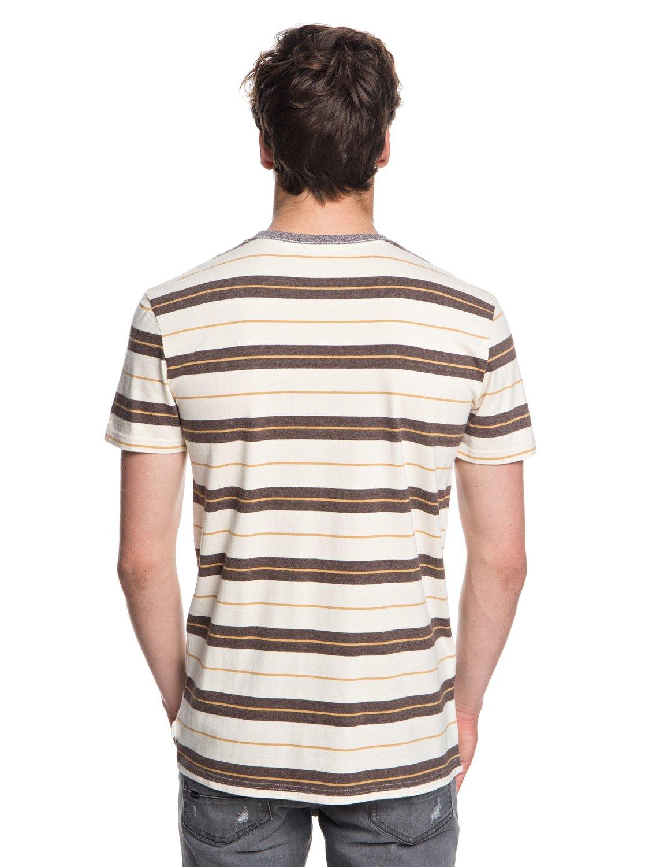 Quiksilver-Dera-Steps-T-shirt-col-rond-pour-Homme-EQYKT03753 miniature 11