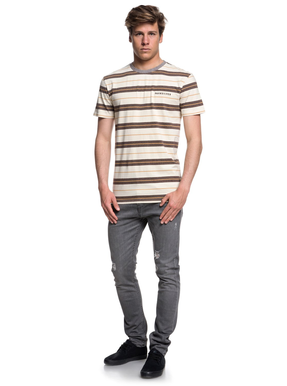 Quiksilver-Dera-Steps-T-shirt-col-rond-pour-Homme-EQYKT03753 miniature 6