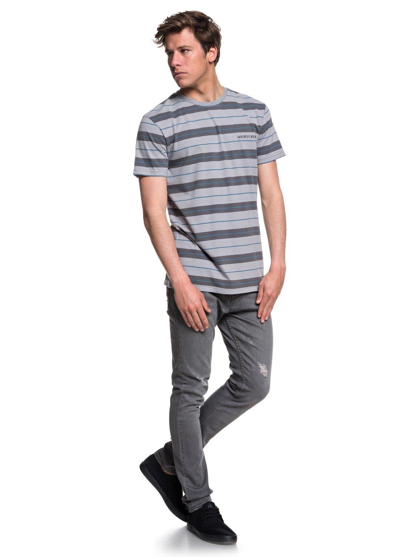 Quiksilver-Dera-Steps-T-shirt-col-rond-pour-Homme-EQYKT03753 miniature 14