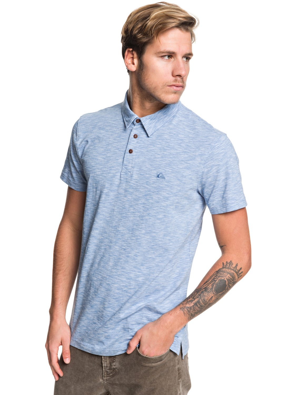 395f553bc 0 Everyday Sun Cruise - Short Sleeve Polo Shirt Blue EQYKT03957 Quiksilver
