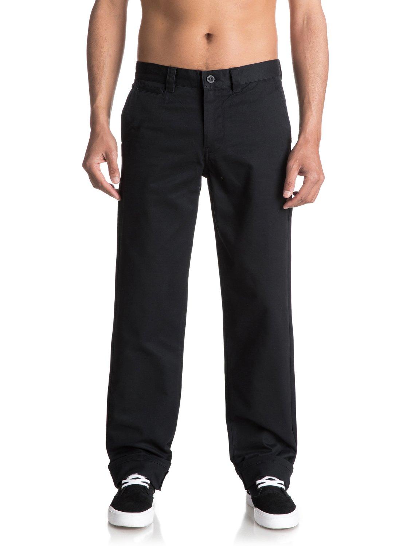 a1f171e263125 0 Ghetto Surf - Pantalones de sarga para Hombre Negro EQYNP03132 Quiksilver