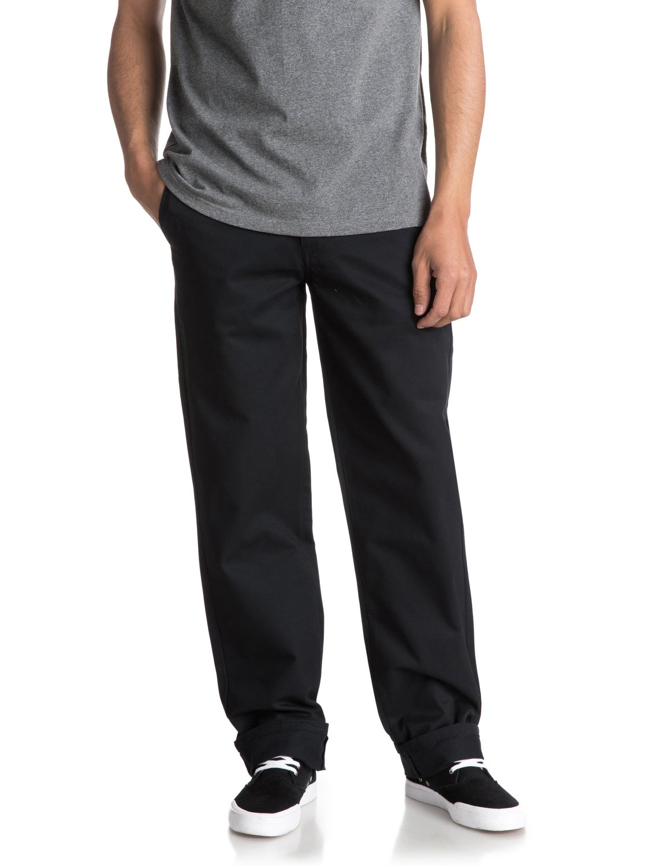 97f105821d6b4 2 Ghetto Surf - Pantalones de sarga para Hombre Negro EQYNP03132 Quiksilver