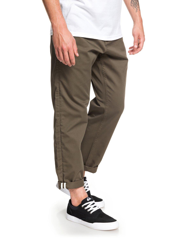 Quiksilver-Disaray-Pantalon-chino-pour-Homme-EQYNP03161 miniature 7