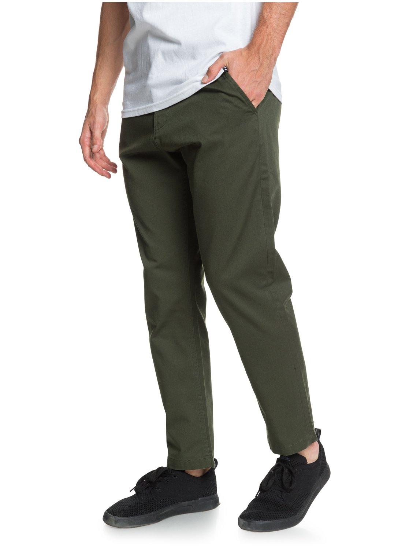 Quiksilver-Disaray-Pantalon-chino-pour-Homme-EQYNP03161 miniature 11