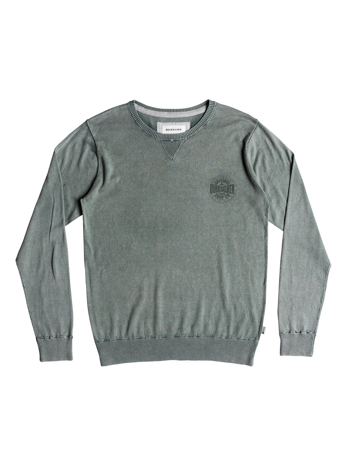 Quiksilver-Miyako-Reef-Pull-col-rond-pour-Homme-EQYSW03221 miniature 8