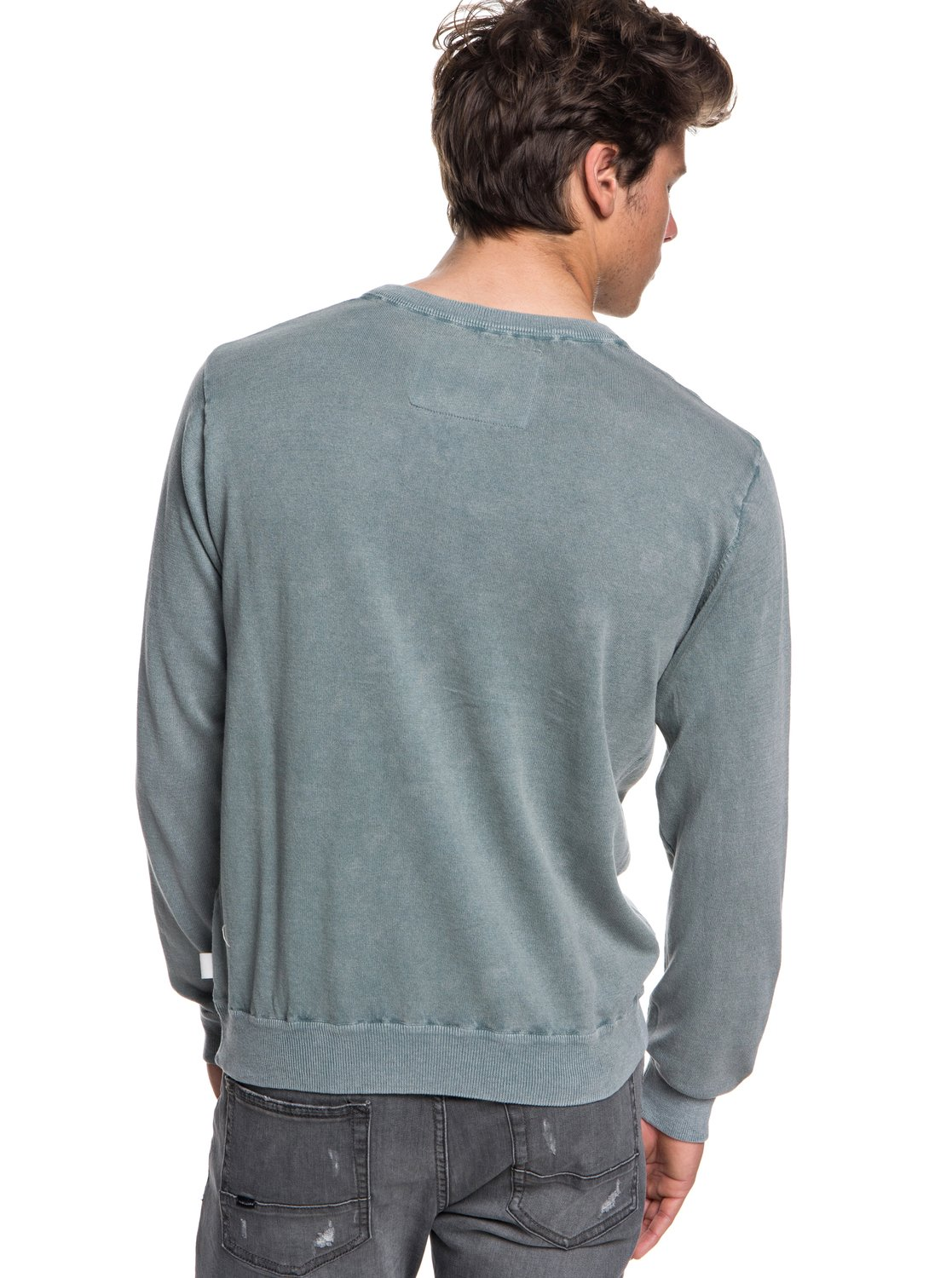 Quiksilver-Miyako-Reef-Pull-col-rond-pour-Homme-EQYSW03221 miniature 7