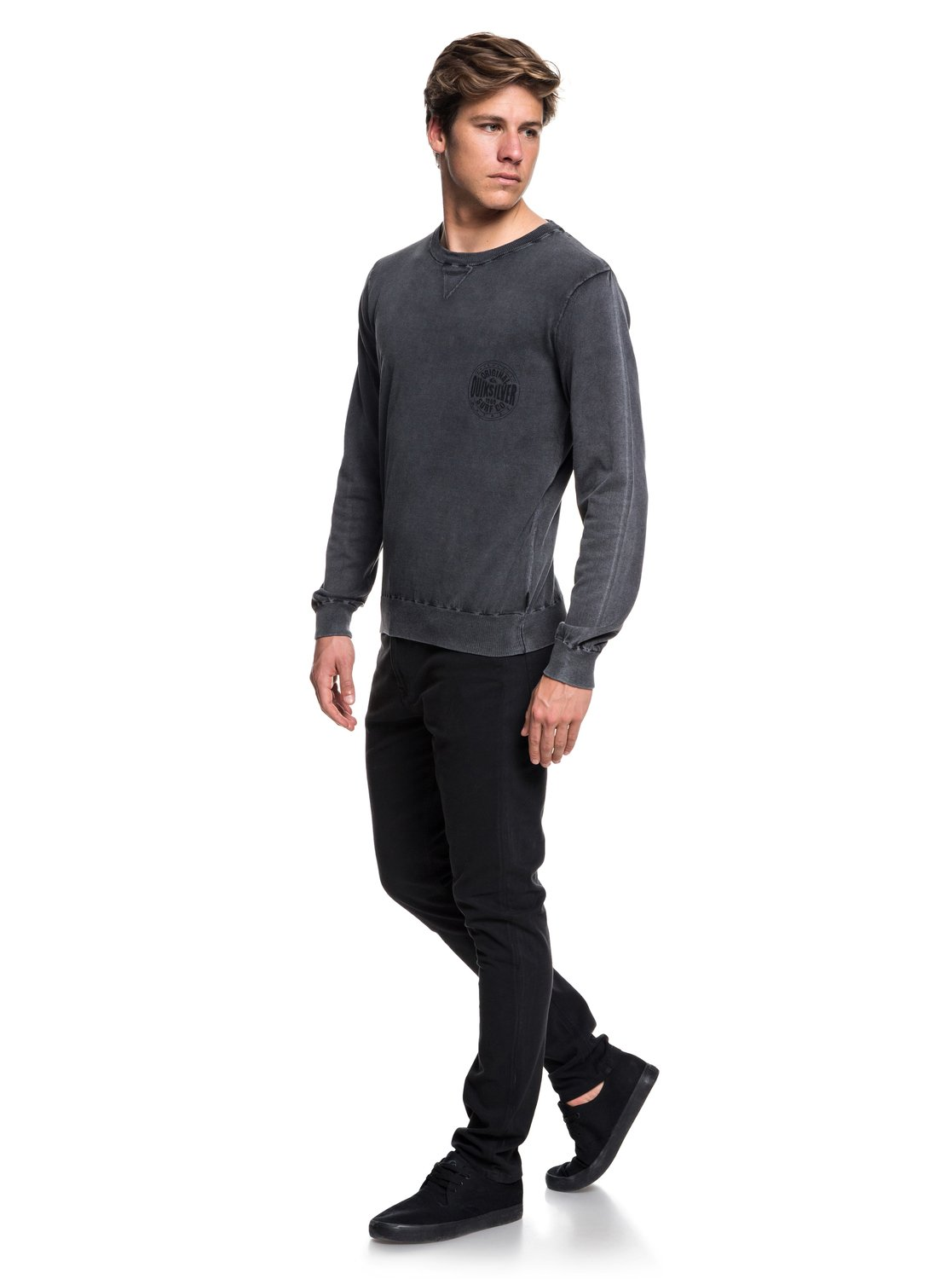 Quiksilver-Miyako-Reef-Pull-col-rond-pour-Homme-EQYSW03221 miniature 10