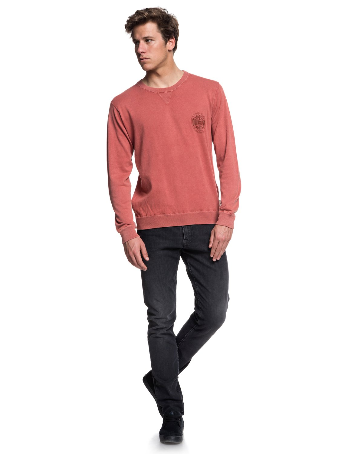 Quiksilver-Miyako-Reef-Pull-col-rond-pour-Homme-EQYSW03221 miniature 14