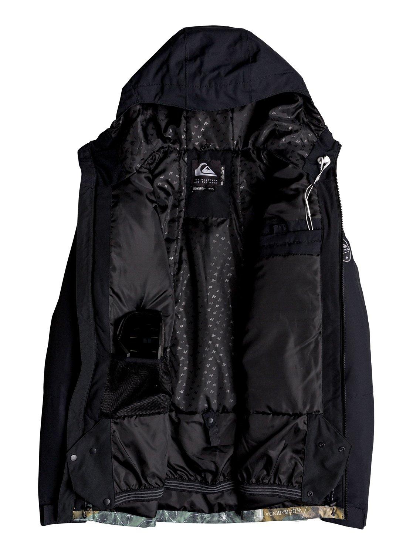 Quiksilver-Mission-Block-Veste-de-snow-pour-Homme-EQYTJ03187 miniature 6