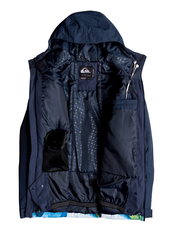 Quiksilver-Mission-Block-Veste-de-snow-pour-Homme-EQYTJ03187 miniature 15