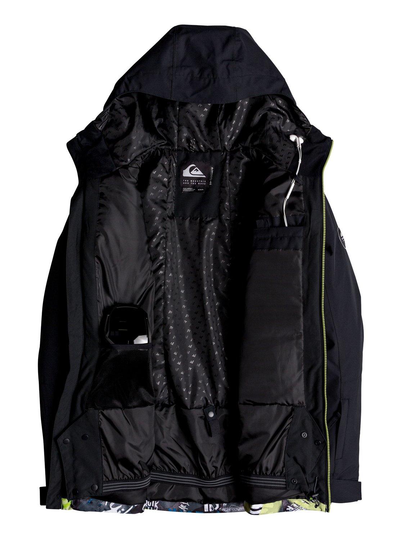 Quiksilver-Mission-Block-Veste-de-snow-pour-Homme-EQYTJ03187 miniature 9