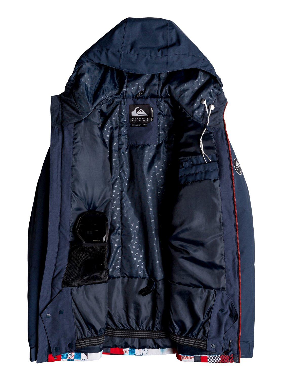 Quiksilver-Mission-Block-Veste-de-snow-pour-Homme-EQYTJ03187 miniature 12