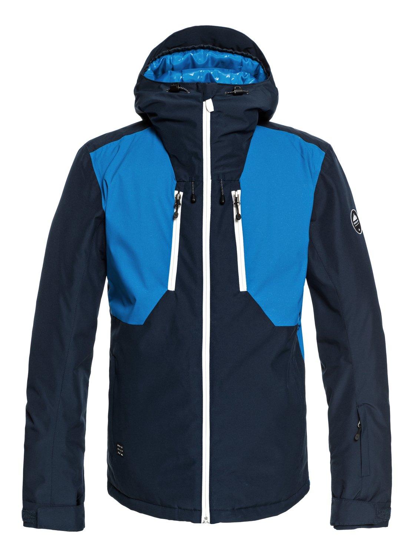 5c846aaab2c 0 Mission Plus - Snow Jacket for Men Blue EQYTJ03189 Quiksilver