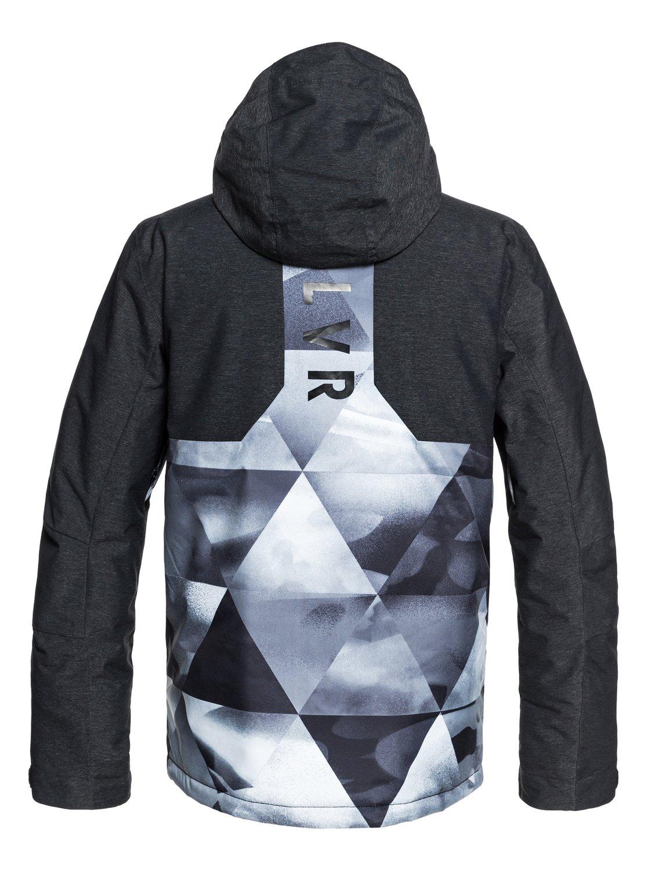 c0854acca50 1 Mission Plus - Snow Jacket for Men Black EQYTJ03189 Quiksilver
